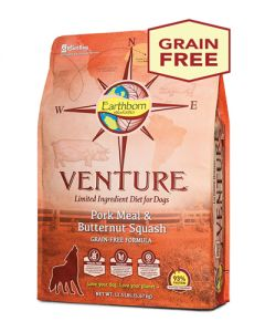 Earthborn Holistic Venture Pork & Butternut Squash - Dog Food