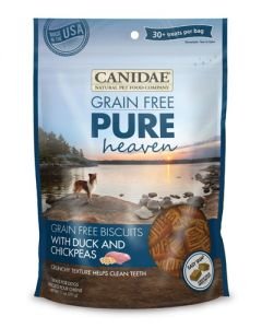 Canidae Grain Free PURE Heaven Biscuits with Duck & Chickpeas Dog Treats
