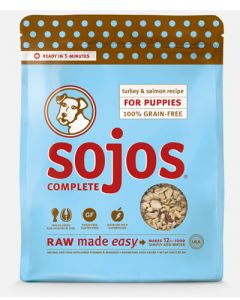 SOJOS Freeze-Dried Complete Turkey & Salmon Puppy