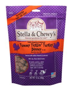 Stella & Chewy's Freeze Dried Tummy Ticklin' Turkey - CAT Dinner