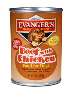 Evangers Classic Line Beef with Chicken Canned Dog Food