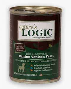 Nature's Logic Canine Venison Feast  Canned Food