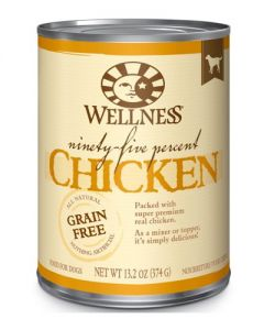 Wellness Pet Food 95% Chicken Canned Dog Food