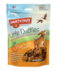 Smart n' Tasty Little Duckies & Pumpkin Dog Treats