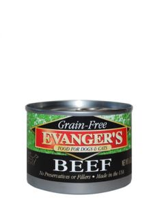 Evangers Grain Free Beef Canned Dog & Cat Food