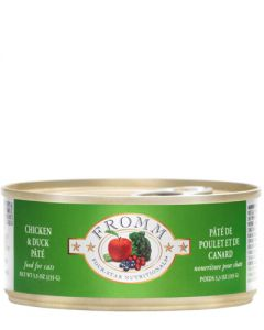 Fromm Family Foods Four Star Chicken & Duck  Pate Canned Cat Food