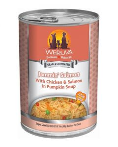 Weruva Jammin Salmon Chicken & Salmon Canned Dog Food