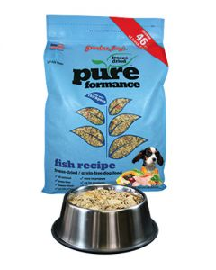 Grandma Lucy's Grain Free PurePerformance Fish & Chickpeas Freeze Dried Natural Dog Food