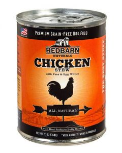 Redbarn Products Grain Free Chicken Stew Canned Dog Food
