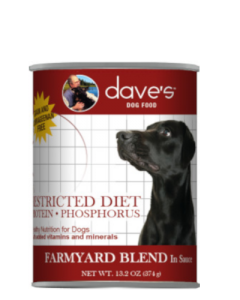 Dave's Pet Food Restricted Diet Protein & Phosphorus Farmyard Blend Grain-Free Canned Dog Food