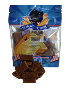 Kona's Chips - Mini Duck Bites Dog Treats