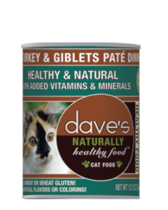 Dave's Pet Food Naturally Healthy Grain-Free Turkey Giblet Formula Canned Cat Food