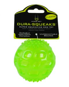 Hyper Pet Dura-Squeaks Ball Dog Toy