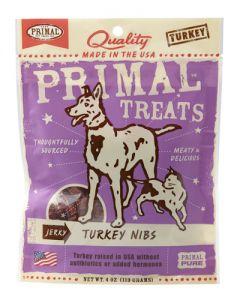 Primal Jerky Turkey Nibs - Treats