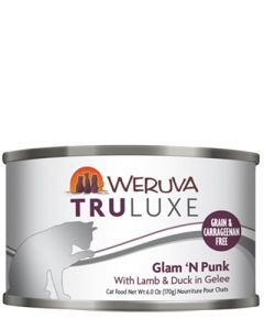 Weruva TruLuxe Glam N Punk Lamb and Duck Canned Cat Food