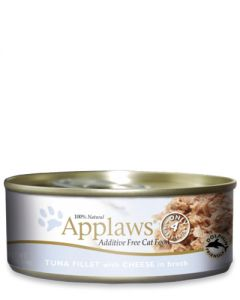 Applaws Tuna Fillet & Cheese Canned Cat Food
