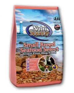 NutriSource Grain Free Seafood Select Small Bites Dry Dog Food