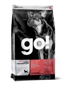 GO! SOLUTIONS SENSITIVITIES LIMITED INGREDIENT GRAIN FREE SALMON Dog Food