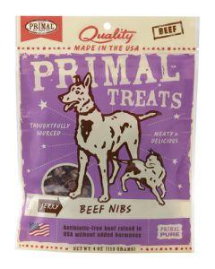 Primal Jerky Beef Nibs - Treats