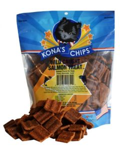 Kona's Chips - Wild Caught Salmon Treats