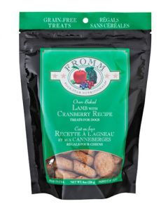 Fromm Family Foods Four Star Grain Free Lamb & Cranberry Dog Treats