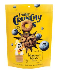 Fromm Family Foods Crunchy Os Blueberry Blasts Dog Treats