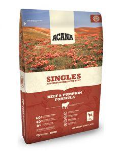 ACANA Singles Limited Ingredient Diet Grain Free Beef & Pumpkin Dog Food