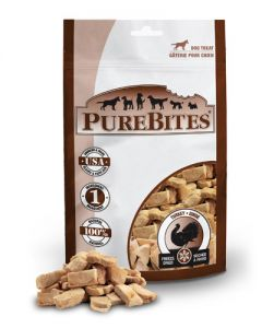 PureBites Freeze Dried Turkey Dog Treats