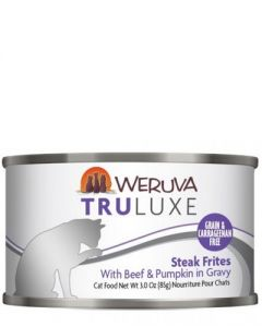 Weruva TruLuxe Steak Frites With Beef & Pumpkin in Gravy Canned Cat Food