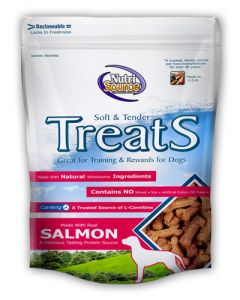 NutriSource Soft & Tender Salmon Formula Dog Treats