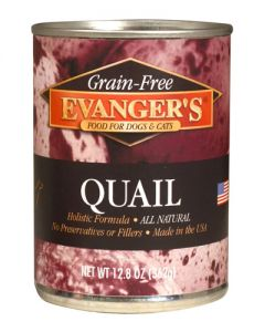 Evanger's - Grain Free Quail - Canned Dog & Cat Food
