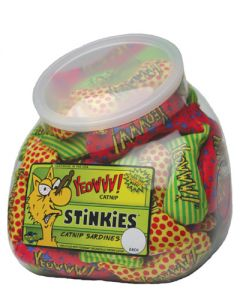 Yeowww! Catnip Stinkies Fish Bowl