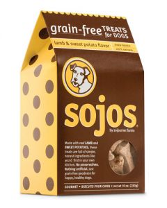 Sojos Lamb & Sweet Potato Grain Free Dog Treats