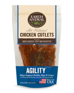 Earth Animal - No Hide Agility Chicken Cutlets