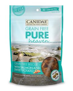Canidae Grain Free PURE Heaven Biscuits with Salmon & Sweet Potato Dog Treats