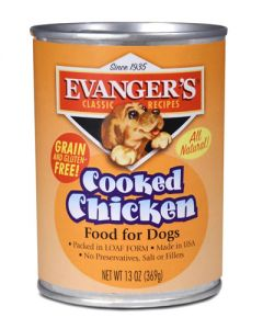 Evangers Classic Line Cooked Chicken Canned Dog Food