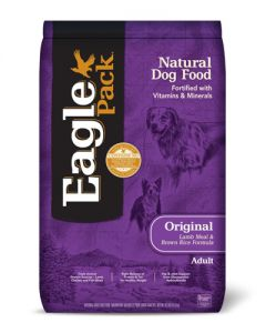 Eagle Pack Natural Original Adult Lamb Meal and Rice Formula Dog Food