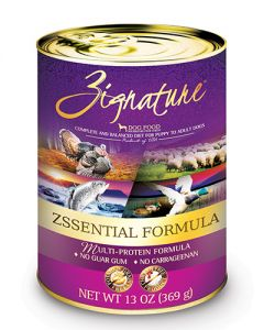 Zignature Zssential Multi-Protein Formula Canned Dog Food