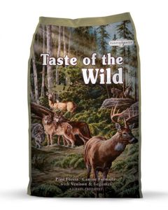 Taste of the Wild Pine Forest Canine Formula with Venison & Legume Dry Dog Food