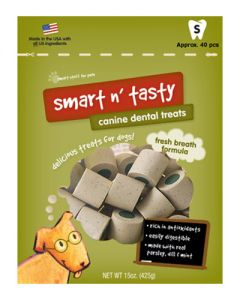 Smart n' Tasty Fresh Breath Small Dog Treats