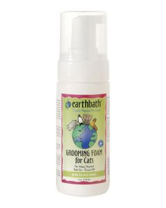 Earthbath Green Tea Grooming Foam for Cats & Kittens