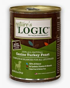 Nature's Logic Canine Turkey Feast Canned Food