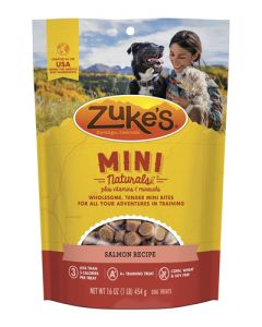 Zuke's Mini Naturals Salmon Dog Treats