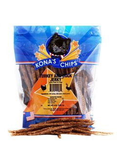 Kona's Chips Turkey & Duck Jerky Sticks
