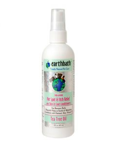 Earthbath Organic Shea Butter Hot Spot & Itch Relief w/ Tea Tree Oil for Dogs and Puppies