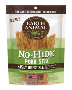 Earth Animal - No Hide Pork Stix