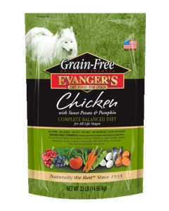 Evangers Grain Free Chicken w/ Sweet Potato & Pumpkin Dog Food