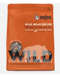 Sojos -  Wild Dog Food Wild Boar Recipe