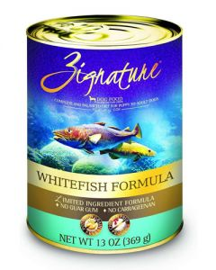 Zignature Whitefish Limited Ingredient Formula Canned Dog Food