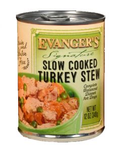 Evangers Signature Series Slow Cooked Turkey Canned Dog Food